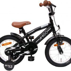 BMX pour enfants 14 pouces avec frein - Amigo